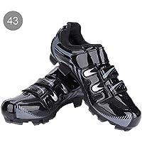 Alomejor Zapatillas de Ciclismo Antideslizantes para Hombre de 1 par de Zapatillas para Ciclismo de montaña