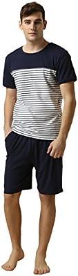 Suntasty Pijama Ropa de Dormir para Hombre Hombre Del Pijama Conjunto