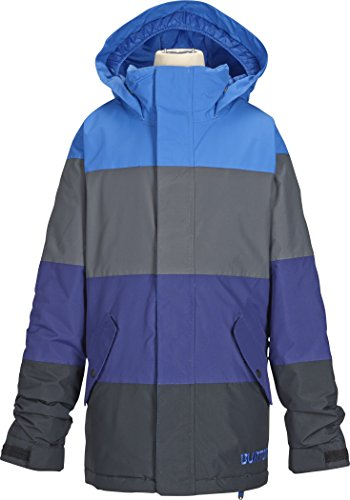 Burton Jungen Snowboardjacke Symbol, mascot/bog/d sea, M, 10132101454 Preisvergleich