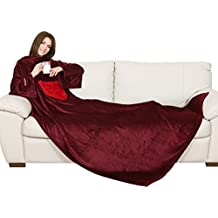 Coperta Con Le Maniche Qvc.Slanket Amazon It