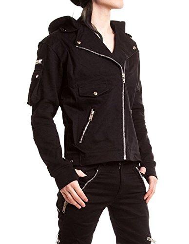 Vixxsin -  Giacca - Camicia - Uomo nero Medium
