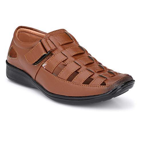 Amico Fine Leather Men's Sandals Tan