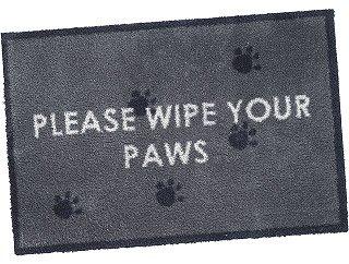 Wipe Your Paws Turtle mat cotton design 60 X 85cm 1