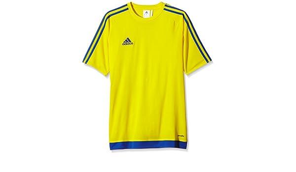 adidas Herren Fußballtrikot Estro 15, WhiteBold Blue, M, S16169