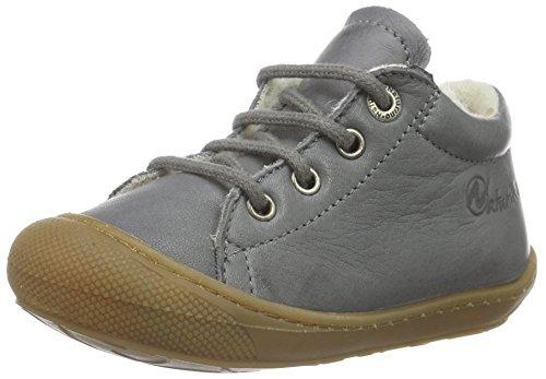 Naturino 3972, Chaussures Marche Mixte Bébé Vert - Grün (Dunkelgrau_9108)