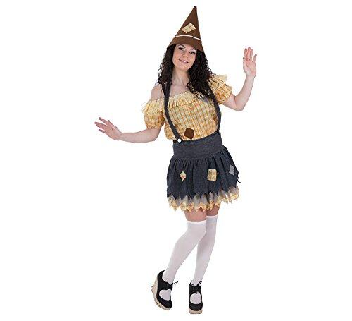 Imagen de llopis  disfraz adulto espantapájaros mujer