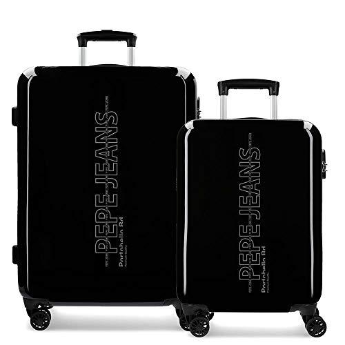 Pepe Jeans Ason, Set valigie, 6341961, Nero, 6341961