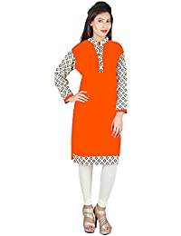 FRANCLO women's 100% Cotton elegant Kurti
