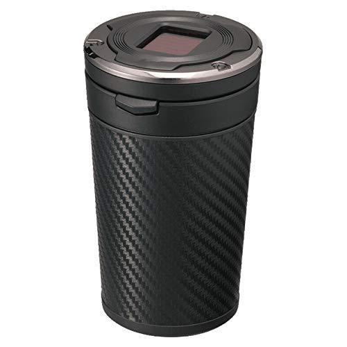 HESHI Aschenbecher Auto Aschenbecher Mit Deckel Multifunktionaler Personalisierter Rauchfreier Zylinder Für Die Meisten Autotassenhalter
