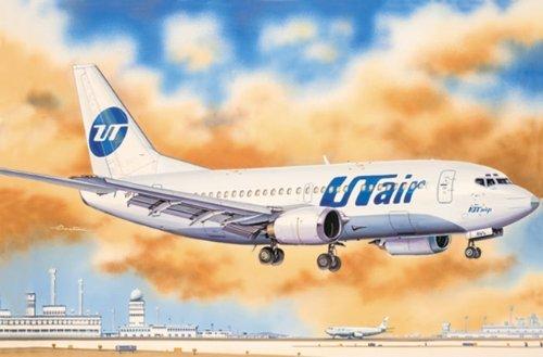 ark-modeles-ee14421-echelle-1-144-cm-boeing-737-500-american-courtes-avion-de-transport-utair-cm-mod