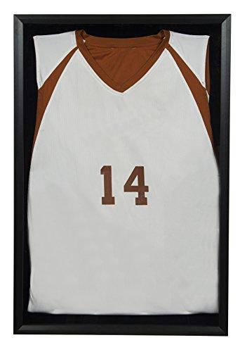 Snap Jersey Wand Display Case Shadow Box, schwarz, 50,8x 76,2cm