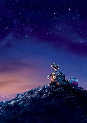 WALL E – US Textless Imported Movie Wall Poster Print - 30CM X 43CM Brand New Disney (Poster Wall-e)