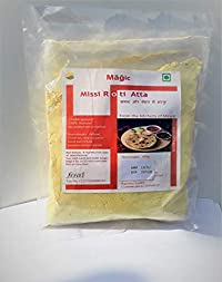 Magic Missi Roti Atta Ready Mix by Instant missi roti Flour/Ready to Cook/No Preservative/Healthy
