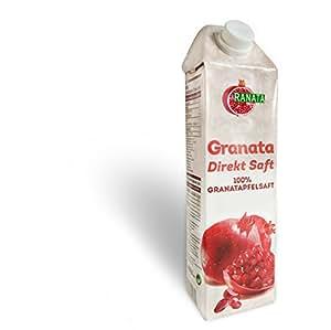 Granatapfelsaft 100 % Direktsaft 1 Liter Pack