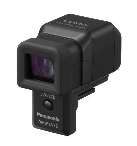 Panasonic LUMIX DMW-LVF2E Elektronischer Aufstecksucher (1,44 Megapixel, 0,7x Vergrößerung, 90 Grad nach oben kippbar) - Elektronischer Sucher
