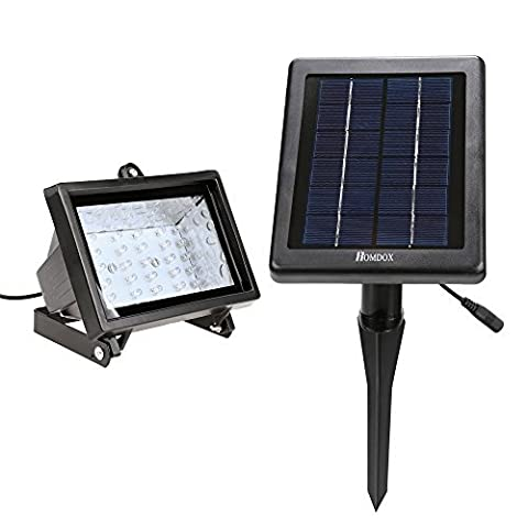 Solar Spot Lights,30 LED Solar Powered Garden Outdoor Waterproof Light , In-ground Lights, Landscape Light for Garden, Fence, Patio, Deck, Yard, Lawn, Pathway, Driveway, Pool Area [Energy Class