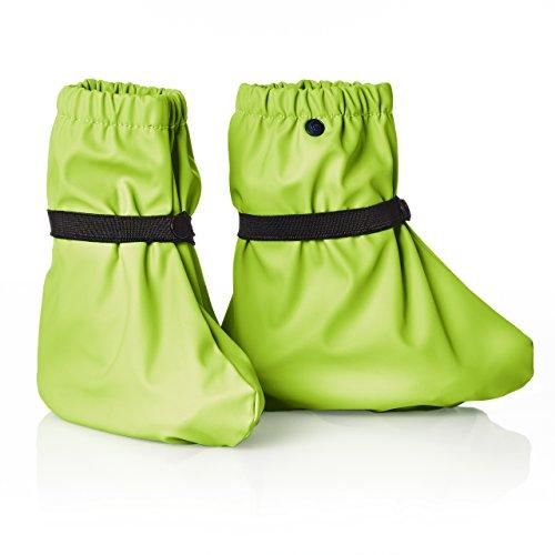 smileBaby Regenüberschuh Regenfüßling Regenschuh für Kinder und Babys wasserdicht in Grün M