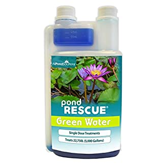 All Pond Solutions Rescue Green Water Pond Water Treatment, 1000 ml 7