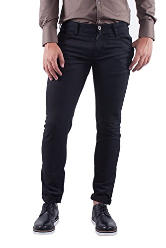ANTONY MORATO - Pantaloni super skinny uomo gilmour w00415 Nero