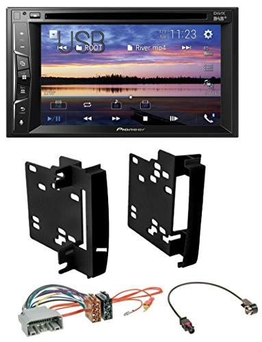 caraudio24 Pioneer AVH-A3200DAB Bluetooth 2DIN USB DVD DAB MP3 Autoradio für Chrysler 300C Sebring Dodge Avenger Nitro Jeep