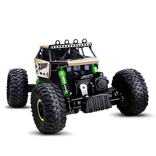 PETRLOY Kinder RC Spielzeugauto High Speed   36 km/h 4WD Monster Truck Gebührenpflichtige 2,4 GHz Fernbedienung Truck 1:14 Maßstab Off-Road-Auto RTR All Terrain Land Auto Legierung Körper Buggy Klet
