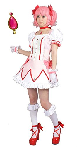 irl Madoka Magica Kaname Madoka magical girl clothes M size wig with (japan import) (Madoka Kaname Wig)