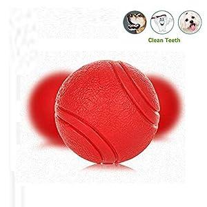 ACLBB Balle de Jeu pour Chien Jouet Caoutchouc Naturel pour Chien en Caoutchouc Robuste Balle de Jeu pour Chien, Jouet à mâcher, pour Grand Petit Chien