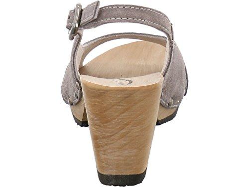 Softclox S3115, Sandales Pour Femme Gris