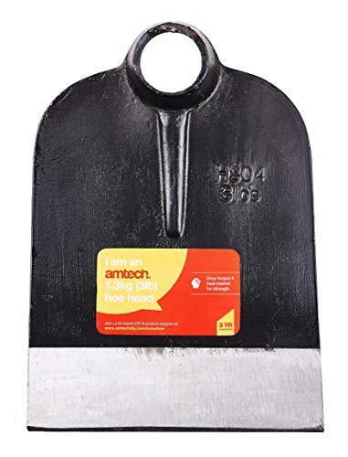 am-tech - lama per zappa da giardino, 1,4 kg