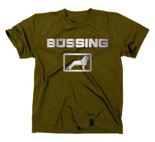 Büssing NAG MAN LKW / Bus T-Shirt, oliv, XXL