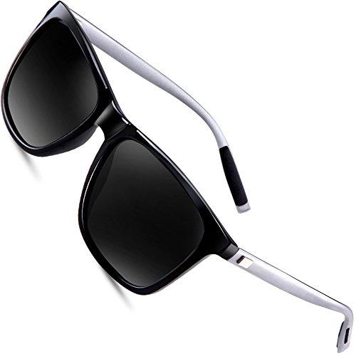 c8e8ba2e735 wearPro Wayfarer Sunglasses Mens Retro Vintage Polarized Sun Glasses WP1003
