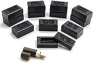 Gift Lounge12pcs Incense Burners with 20 pcs Oud each, Size 7cm - Black