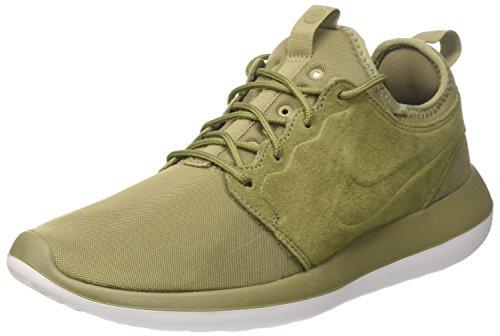 Nike Roshe Two Br, Scarpe da Ginnastica Uomo Verde (Trooper/Trooper/White/Black)