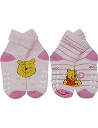 Winnie the Pooh Baby Girls' Socks pink pink