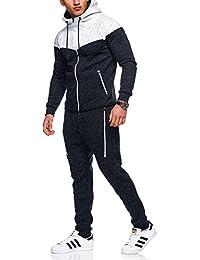 8db0121624 MT Styles jogging survêtement ensemble pantalon + sweat-Shirt ...