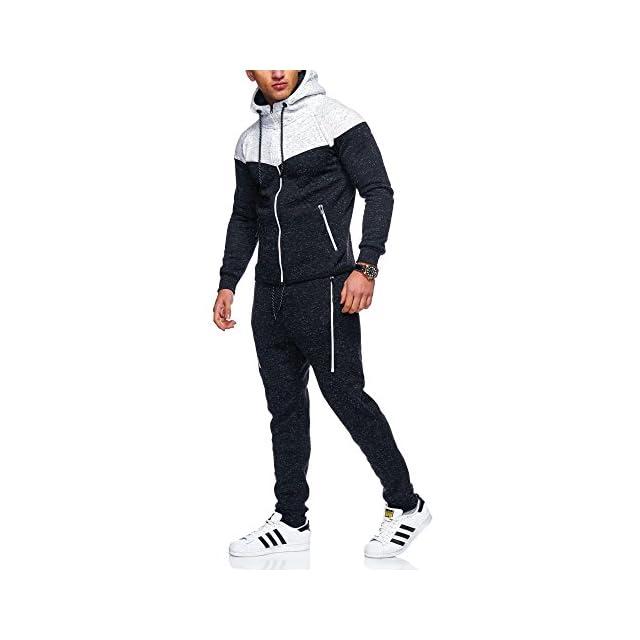 89b8c5d7e4 MT Styles jogging survêtement ensemble pantalon + sweat-Shirt R-971 ...