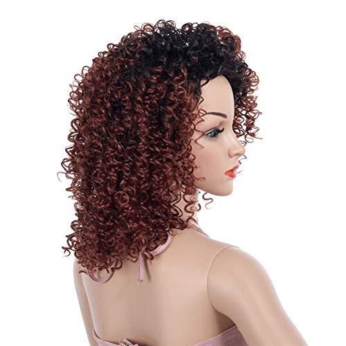 Perücken Kostüm Perücken Europäische Und Amerikanische Perücken Mode Perücken Ebay Afrikanischen Kleinen Volumen Farbverlauf Teilweise Weibliche Lange Kopfbedeckung 46Cm (Ebay Fancy Dress Kostüme)