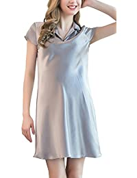 67c66ad24b Amazon.co.uk  Silver - Nightdresses   Nightshirts   Nightwear  Clothing