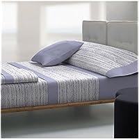 JUEGO DE SÁBANAS cama de 135 cm LILA Tolrá modelo CORONA-4122