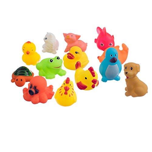 13pcs-simpatici-animali-in-gomma-morbida-galleggiante-sqeeze-bambino-lavaggio-suono-bagno-gioco-gioc