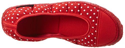 Nanga Spitze, chaussons d'intérieur femme Rot (Rot)