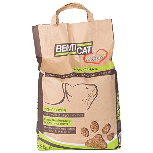 Pflanzen-Kölle Katzenstreu BentiCat Pure Nature, Klumpstreu, 6 kg