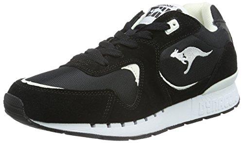 Kangaroos Coil-R2, Baskets mode homme Noir - Noir (500)