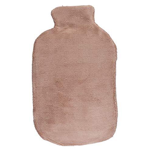 Gel-Wärmflasche Mikrowelle | Alternative zu Kirschkernkissen & Kühlpads | Wärmekissen mit flauschigem Bezug für Nacken, Schulter, Rücken, Reisen