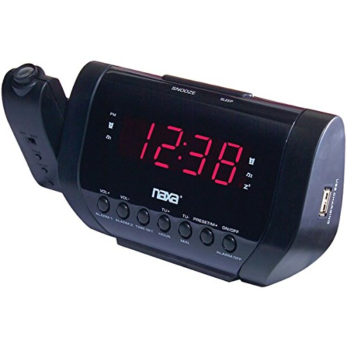 OEM Naxa Projection Alarm Clock With Usb Charger Product Type: Clocks/Clock Radios