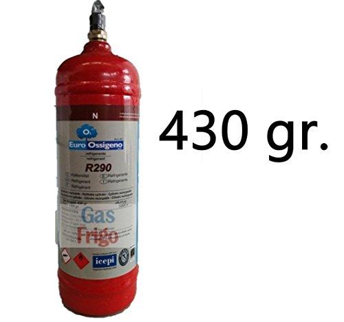 Gas refrigerante R 290 para refrigeradores