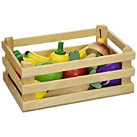 Vilac Crate of Fruit and Vegetables