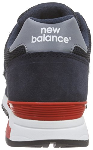 New Balance WL565V1, Baskets Basses Homme Blau (Blue/Red)