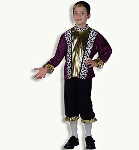 Prinz Karli, edles Jungen-Kostüm, Renaissance, Prinzenkostüm, Mittelalter, Adeliger (152) (Kind Renaissance Bauer Kostüme)