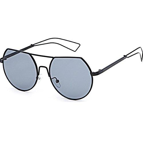 LCLrute 2018 Mode Sonnenbrillen Autofahrer Anti-Reflexion Nachtsichtbrille Fahren Brille Strand Sonnenbrille (D)